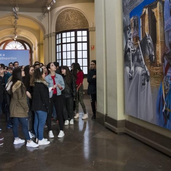 Programa de visitas guiadas de escolares al Palacio Provincial
