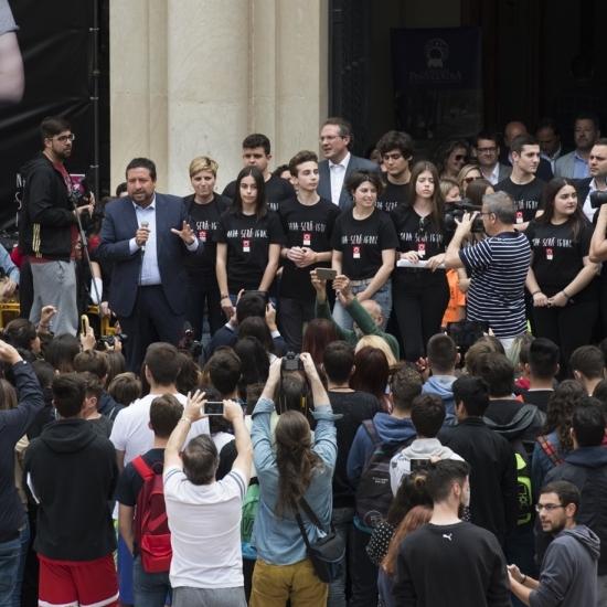La Diputación presentará en Ministerio el proyecto que impulsa contra el acoso escolar