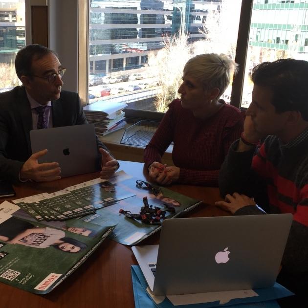 La Diputación presenta al Ministerio el innovador proyecto que impulsa contra el bullying