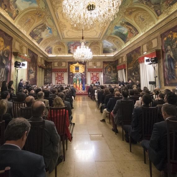 La Diputación retransmitirá este sábado el solemne acto del Día de la Provincia