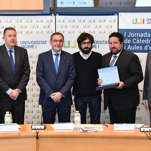 La UJI reconoce a la Diputación por su participación en el Programa Cátedras y Aulas de Empresa