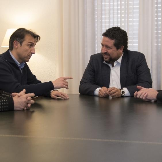 Moliner se reúne con el nuevo presidente de FEPAC-ASAJA