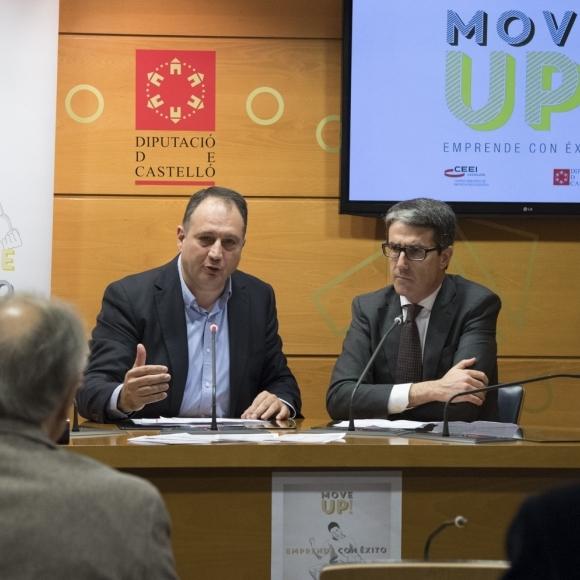 La Diputación y el CEEI presentan el III 'Move Up!'