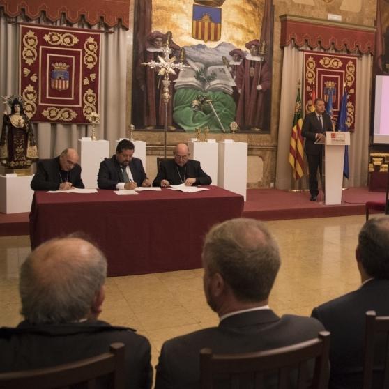 La Diputació abandera la cura del patrimoni sacre de la província