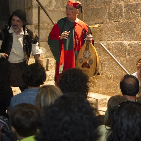 Activitats culturals en el Castell de Peniscola en Setmana Santa