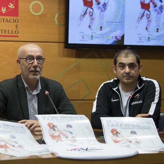 La Diputación impulsa el Open Internacional de Taekwondo