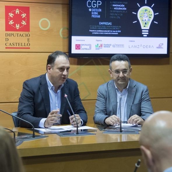 La Diputació consolida el programa d'acceleració empresarial Castelló Global Program