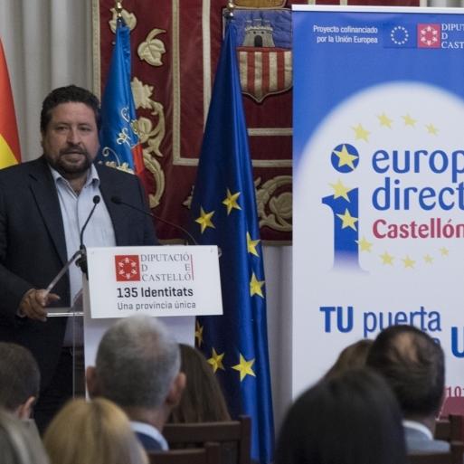 La Diputació presenta 'el Google de les ajudes europees' per a empreses i ajuntaments