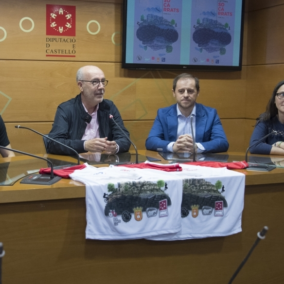 La Diputación impulsa la II BTTRAIL Socarrats de Forcall