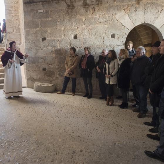 Primeres visites teatralitzades del Castell de Peníscola amb rècord de visitants