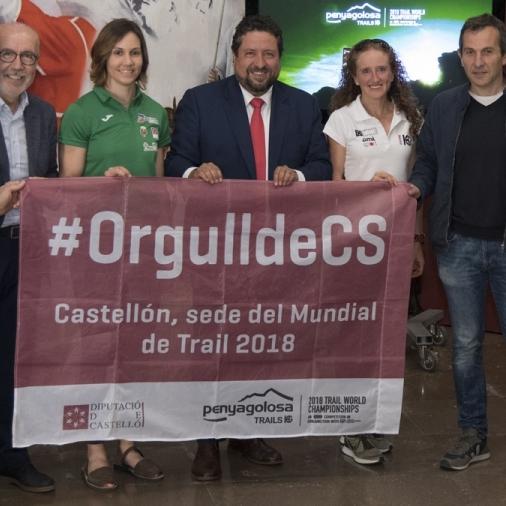La Diputació implica els i les esportistes castellonencs en l'espot del Mundial de Trail