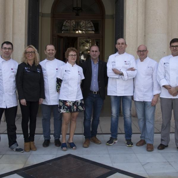 Castelló Ruta de Sabor pondrá en valor la gastronomía provincial en '8 chefs 8 platos'
