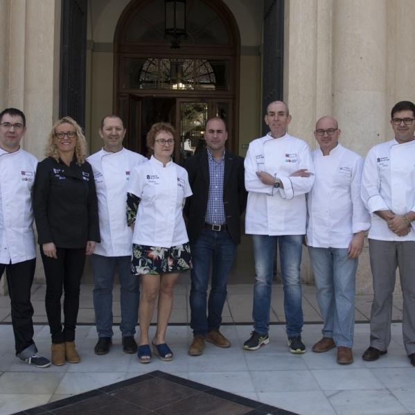 Castelló Ruta de Sabor posarà en valor la gastronomia provincial a través '8 xefs 8 plats'