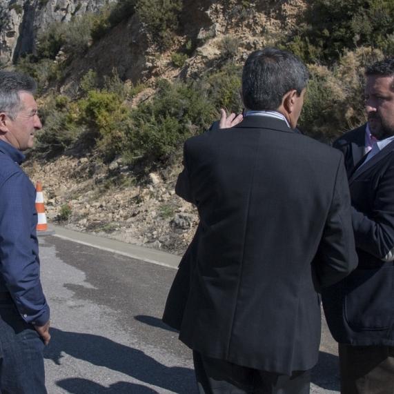 Mejoramos la seguridad vial de la Serra d´en Galceran como parte de #Repoblem