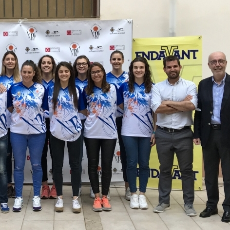 La Diputación anima a hacer historia al Nou Bàsquet Femení Castelló