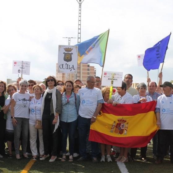 Final de los I Juegos Castellonenses de Adultos Mayores de la Diputación