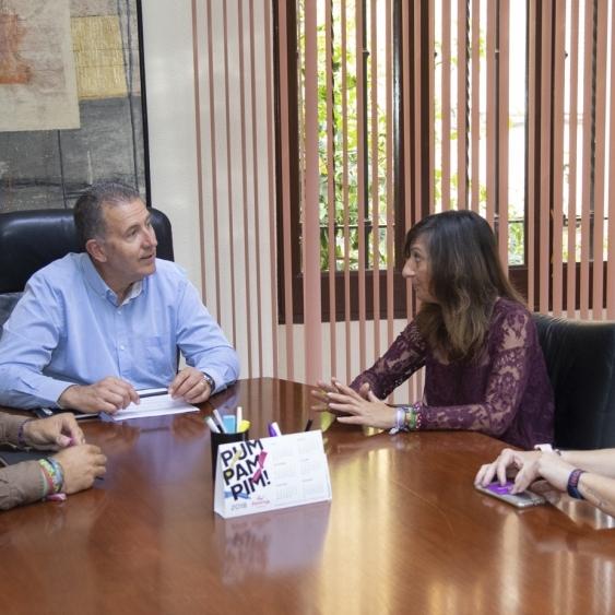 La Diputació treballa per la integració efectiva del col·lectiu LGTBI