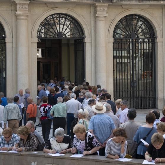 Cientos de mayores castellonenses solicitan su plaza en el Castellón Sénior