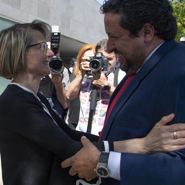 """Moliner: """"La rectora Alcón tiene nuestra lealtad y apoyo"""""""