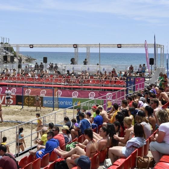 Espectacular final del Torneo Arena 1000 de Balonmano Playa
