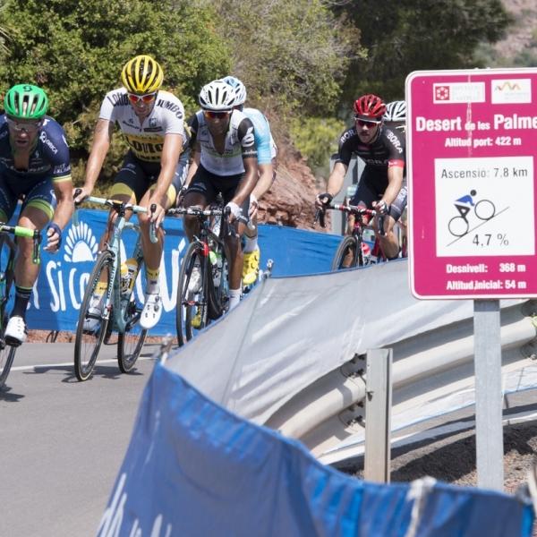 El Desert de les Palmes, punto caliente del Campeonato de España de Ciclismo