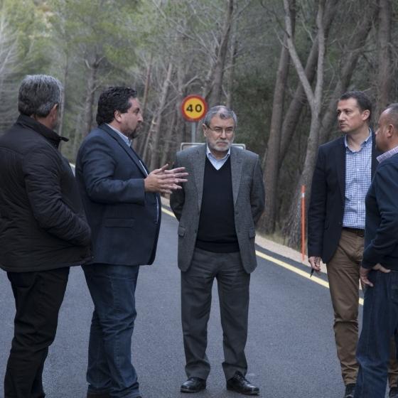Diputació arriba a l'estiu amb 7 obres concloses en carreteres de l'interior