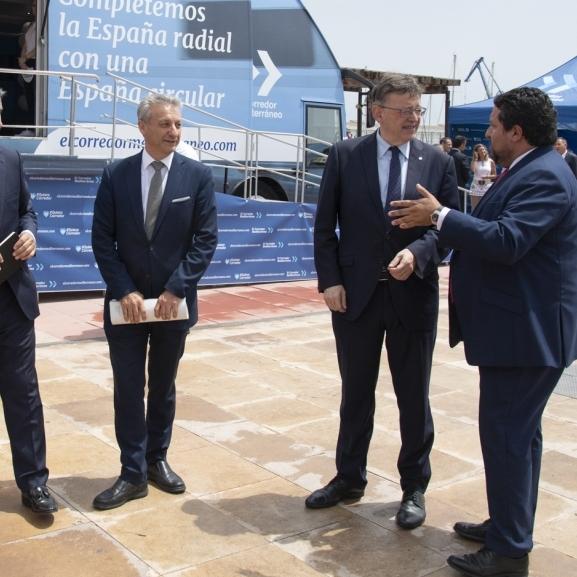 """Moliner reivindica al Govern política """"en majúscules"""" en el Corredor Mediterrani"""