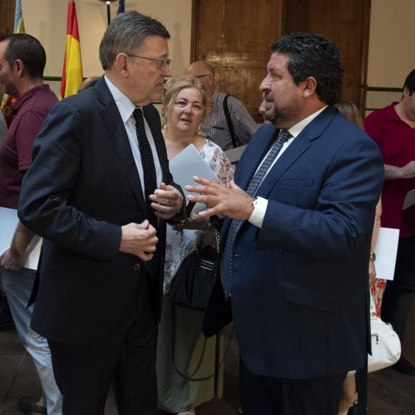 """Moliner: """"Nos volcamos en ayudar a los pueblos para que aprovechen los fondos de la UE"""""""