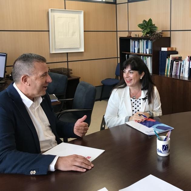 La Diputació i la UJI assenten les bases per a noves col·laboracions culturals