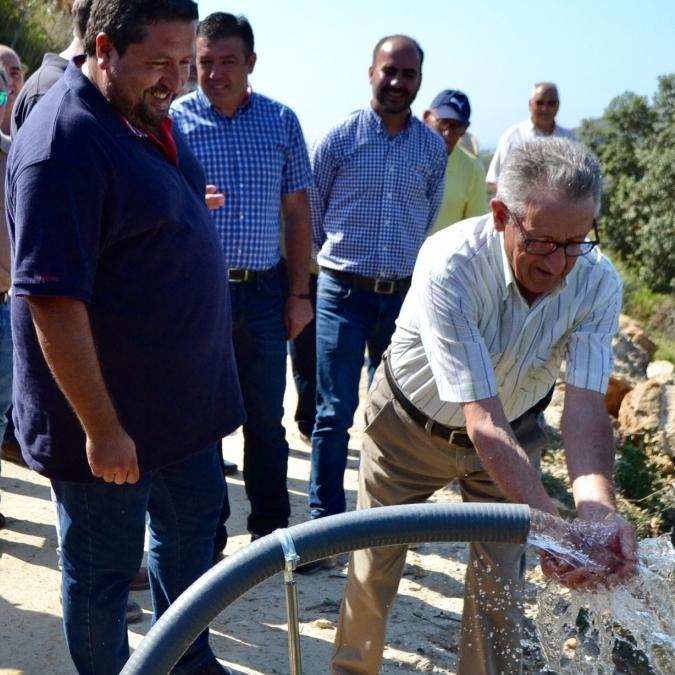 Garantizamos el abastecimiento de agua en Serratella