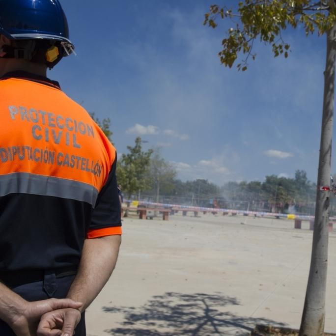 La Agrupación de Voluntarios de Protección Civil presta ya 1.689 servicios