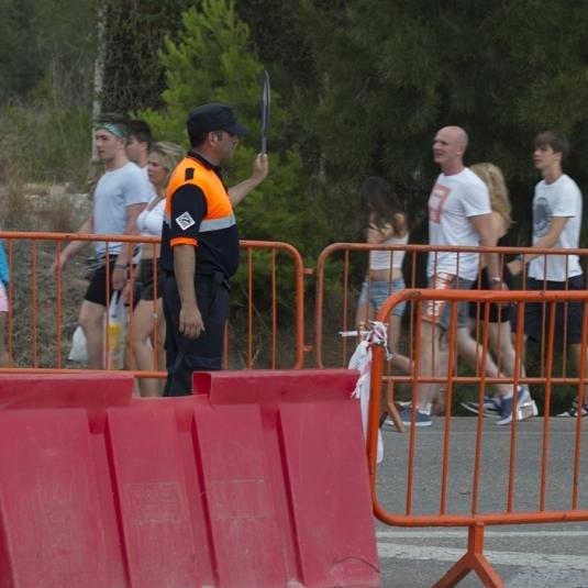 44 efectius de bombers a l'Arenal Sound