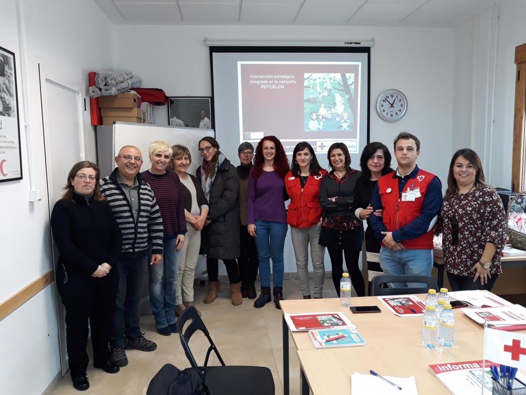 Portem Repoblem de la mà de Creu Roja a 13 municipis aquest mes