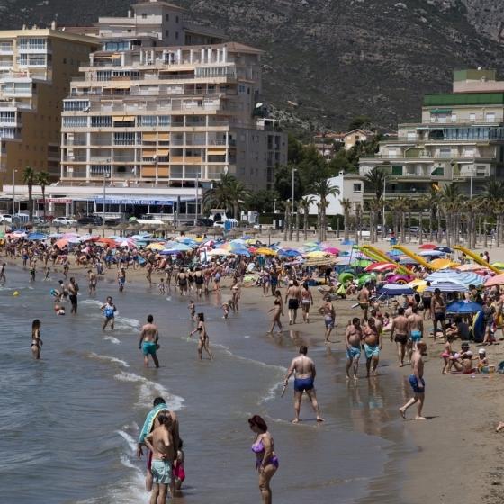 Castellón alcanza en agosto una ocupación por encima del 90% en costa y 85% en el interior