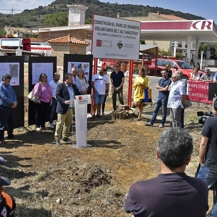 Moliner anuncia un nou parc de Bombers i Protecció Civil a Benassal
