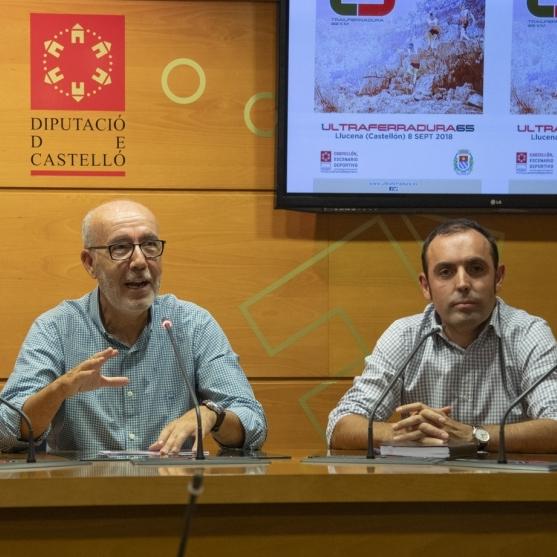 La Diputación consolida la II Ultraferradura de Llucena como un evento único del deporte de montaña