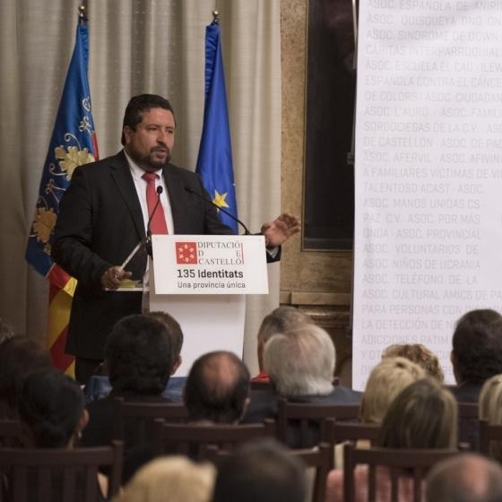 Diputación se alía con un centenar de asociaciones para reforzar su trabajo social en el interior