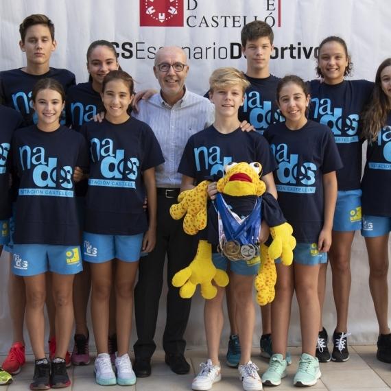 Diputación reconoce al Club Nados Castellón por las medallas en el Campeonato Autonómico y Nacional