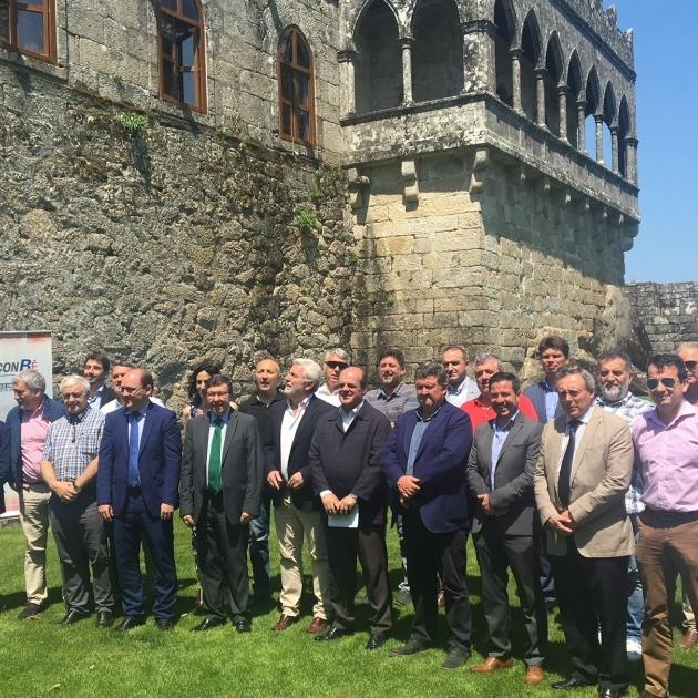 Los Consorcios de Bomberos de España reconocen la labor de la Diputación