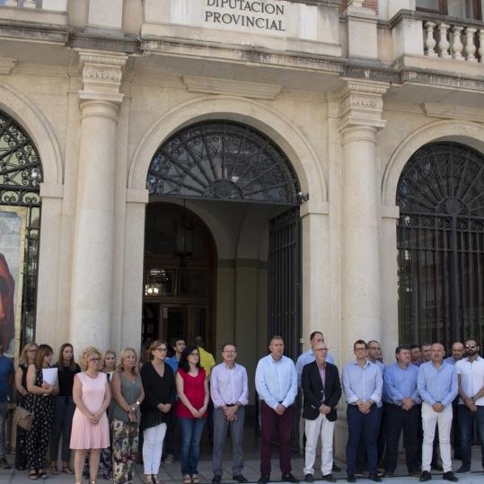 Diputación muestra su repulsa contra la violencia de género