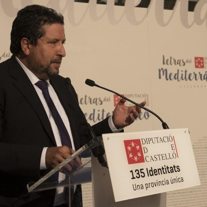 Diputación celebra  la Gala Letras del Mediterráneo