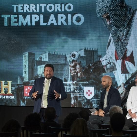 Diputación y Canal Historia dan a conocer a millones de espectadores Castellón Territorio Templario