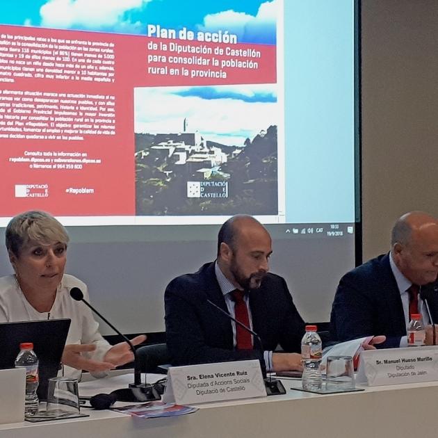 Diputación expone su programa 'Repoblem' como ejemplo de buenas prácticas