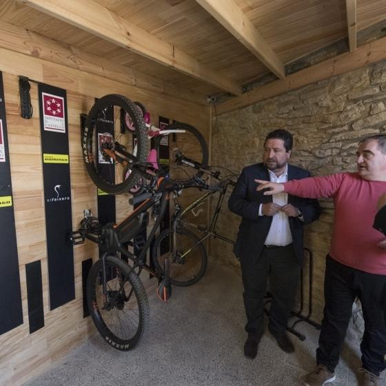 Diputación lidera el impulso del cicloturismo en la provincia