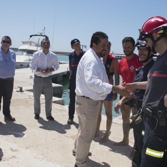 El Consorcio Provincial de Bomberos concluye el verano con 1.200 emergencias atendidas