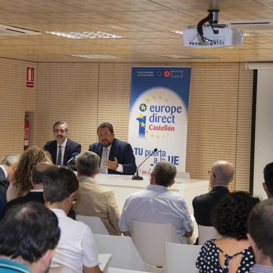 Gobierno Provincial trae nuevas oportunidades europeas