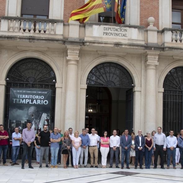 Diputación condena la violencia machista tras el suceso de hoy en Castellón