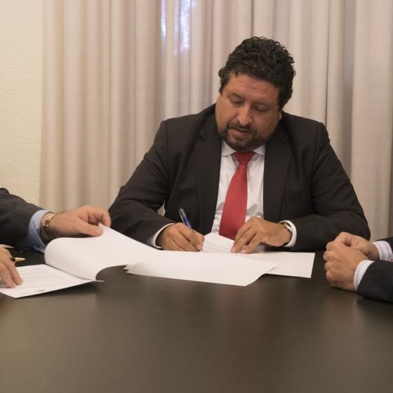 Diputación se alía con la Sociedad Española de Cerámica y Vidrio