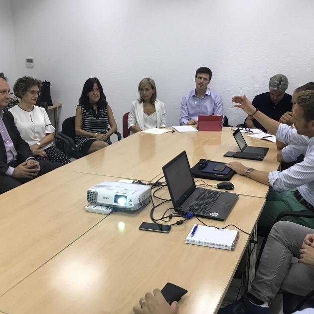 Diputación comparte con el Ayuntamiento de Tarragona su apuesta por la innovación
