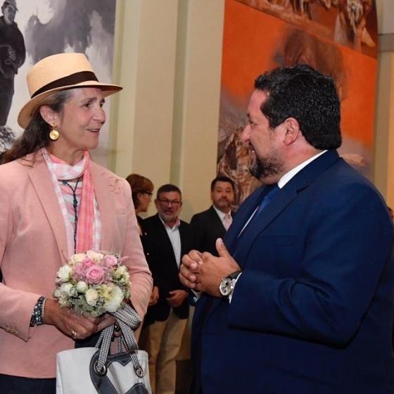 Moliner y la infanta doña Elena inauguran en la Diputación el CIRE